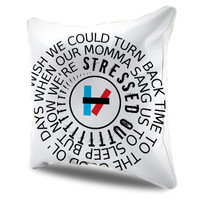 Twenty One Pilots Stressed Out Pillow Cases