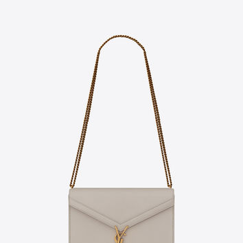 SAINT LAURENT ‎MEDIUM CASSANDRA BAG WITH MONOGRAM SLIDER IN SMOOTH LEATHER ‎ | YSL.COM