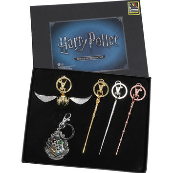Harry Potter Wand Key Chain Set 2017 Summer Convention Exclusive