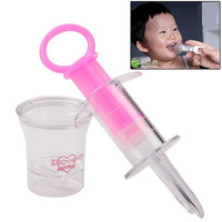 Baby Medication Feeder Infant Everyday Items Needle Tube Feeding the Medicine (Random Color Delivery)