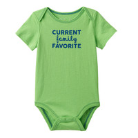 Baby Boy Jumping Beans® Family Statements Bodysuit