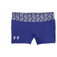 Under Armour Girls HeatGear Sonic 3 Printed Shorts