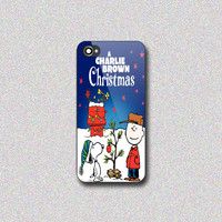 Charlie Brown Christmas - Print on Hard Cover for iPhone 4/4s, iPhone 5/5s, iPhone 5c - Choose the option in right side
