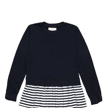 Kate Spade Toddlers' Tunic Sweater Rich Navy/ Cream