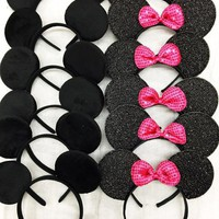 12 MICKEY SET OF MINNIE MOUSE MICKEY MOUSE EARS