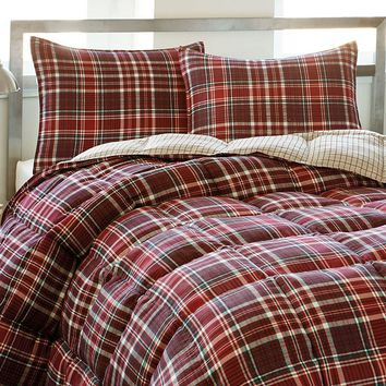 Eddie Bauer Northwood Plaid Comforter Set - King