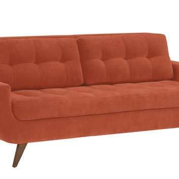 Ava Sofa by Lazar Industries in Luscious Hacienda with Feather Float Seat Cushions