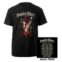 Brantley Gilbert Official Store | Stars and Spray Tour Tee