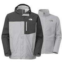 Gliks - The North Face Atlas Triclimate Jacket for Men in High Rise Grey
