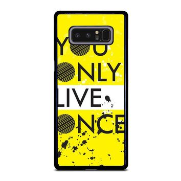 YOLO Samsung Galaxy Note 8 Case Cover