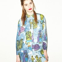 Lazy Oaf | Stick Em Up Shirt
