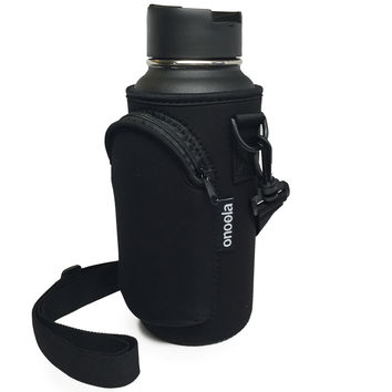 Onoola 32oz Neoprene Pocket Carrier for Hydro Flask Type Bottles
