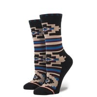 Stance | Rivington Earth, Black, Blue socks | Buy at the Official website Stance.com.