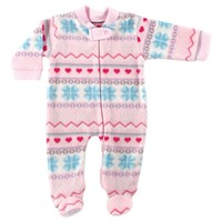 Hudson Baby Boys Fleece Zipper Sleep N Play