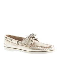 Sperry Top-Sider® for J.Crew Authentic Original 2-eye metallic boat shoes - boat shoes - Women's shoes - J.Crew