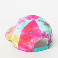 LA Hearts High Summer Tie Dye Dad Hat at PacSun.com