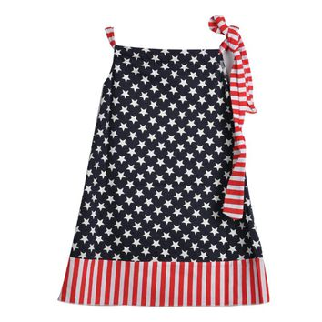 4th July Holiday Boutique Clothing Dress Flag