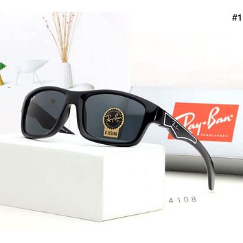 Ray-Ban street fashion men and women retro pilot riding sunglasses #1