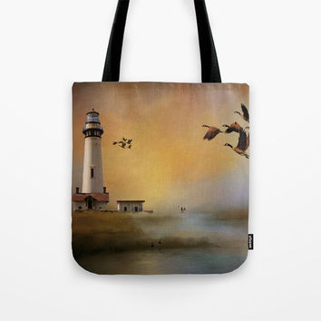 Homeward Bound Tote Bag by Theresa Campbell D'August Art