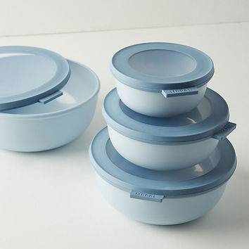 Rosti Mepal Cirqula Shallow Storage Bowl Set