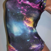 FlipFlop Leos Gymnastics Leotard,  Gymnast Leotards - MILKY WAY