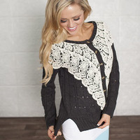 Beautifully Laced Cardigan