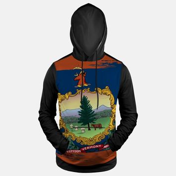 Vermont State Flag Hoodie (Ships in 2 Weeks)