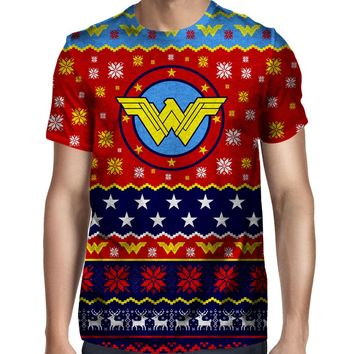 Wonder Woman Christmas T-Shirt