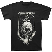Avenged Sevenfold Men's  Anchor T-shirt Black