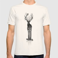 The black deer T-shirt by Youcoucou | Society6