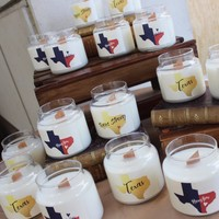 Texas Strong Jar Candle