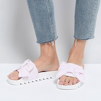 Truffle Collection Bow Slide at asos.com