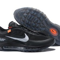 NIKE AIR MAX 97 Black Running shoes Size 40-46