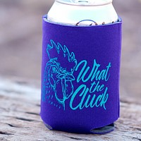 What the Cluck Can Holder in Dark Purple