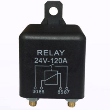 Switch Split Charge Relay 24V 200Amp 4 Pin Heavy Duty ON OFF for Car Van Boat