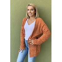 Oh What Fun Cardigan- Pumpkin
