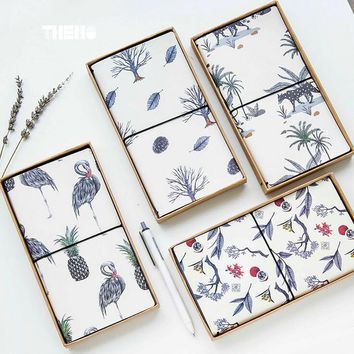 Flamingo, Fruit And Plant Leather PU Cover Planner
