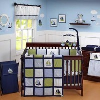 Zachary Baby Crib Bedding by Nautica Kids