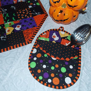 Halloween Pocket Pot Holder