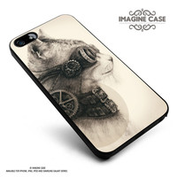 Steampunk cats case cover for iphone, ipod, ipad and galaxy series