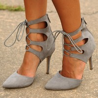 Hold Onto The Night Heels: Gray