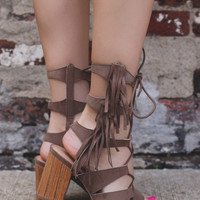 Desert Dancer Heeled Sandals