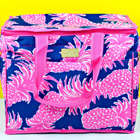 LILLY PULITZER: Insulated Cooler - Flamenco