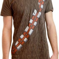 Star Wars I am Chewbacca Costume Adult Brown T-Shirt - Star Wars - | TV Store Online
