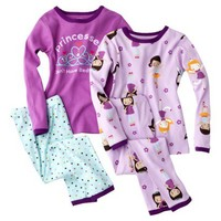 Just One You® by Carter's® Infant Toddler Girls' Pajama Set - Purple/Turquoise