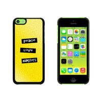 Peace Love Hamsters Case for Apple iPhone 5C
