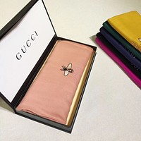 GUCCI Woman Fashion Accessories Sunscreen Cape Scarf Scarves
