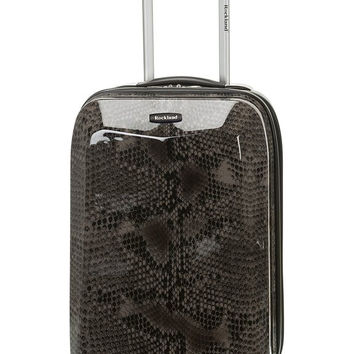 """F151-SNAKE 20"""" Polycarbonate Carry On  Luggage Set"""