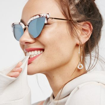 Free People Mamacita Cat Eye Sunnies