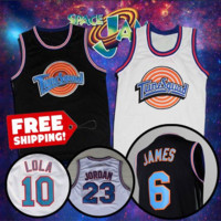Limited Edition SpaceJam ToonSquad Jersey Free Shipping